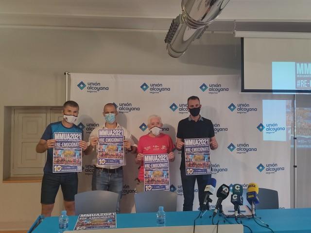 Presentació de la Mitja Marató Unión Alcoyana
