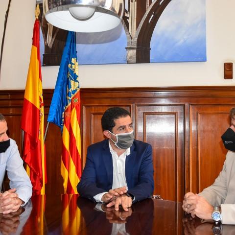 Reunió entre  Ajuntament d'Alcoi i l'Associació Polígon Cotes Baixes