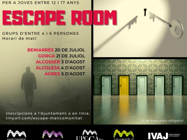 Cartell de l'Escape Room