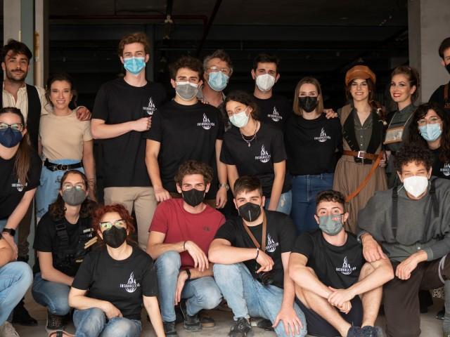 Part de l'equip i actors d'Insurrección / J. Hinojosa