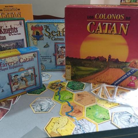 ElCatan, un dels jocs de taula més reconeguts dels últims anys.