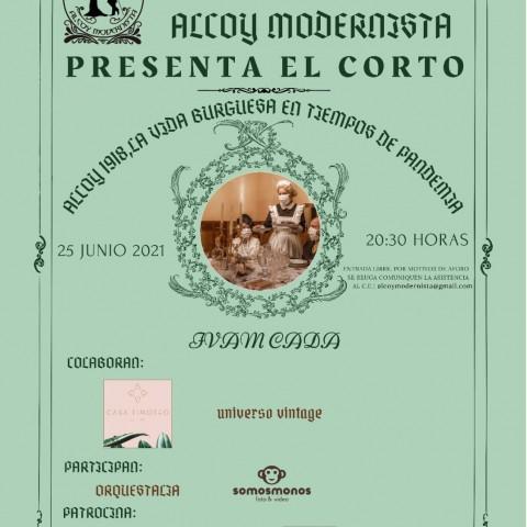 1918: recreació de la vida burgesa a Alcoi en temps de pandèmia
