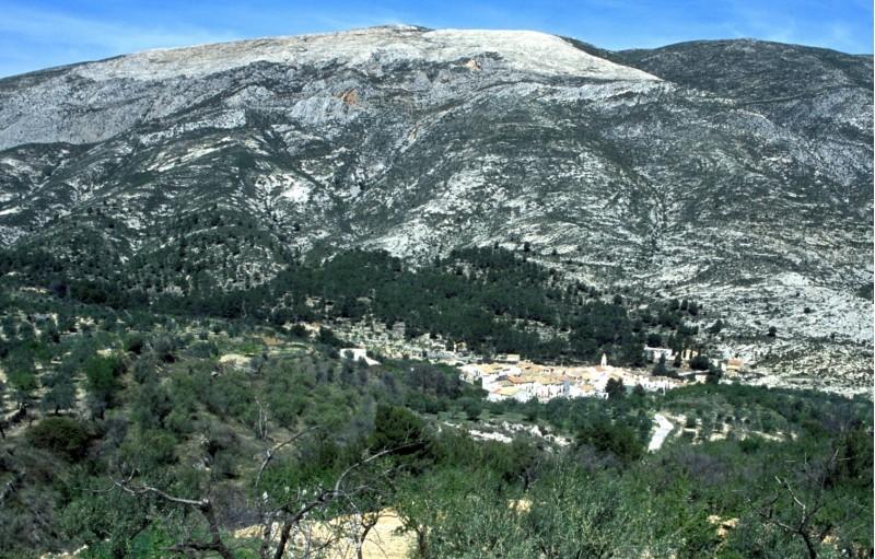 Famorca, el municipi de les comarques on quasi tots els veïns estan ja vacunats. Imatge de l'Ajuntament.