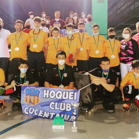 Conjunt infantil Hoquei Club Cocentaina