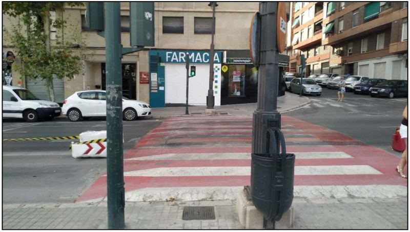 Pas de vianants / Ajuntament d'Alcoi