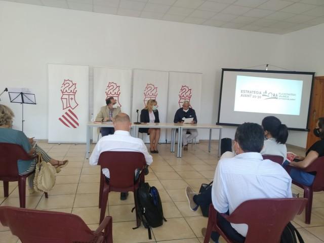 Presentació de l'estratègia AVANT a Penàguila
