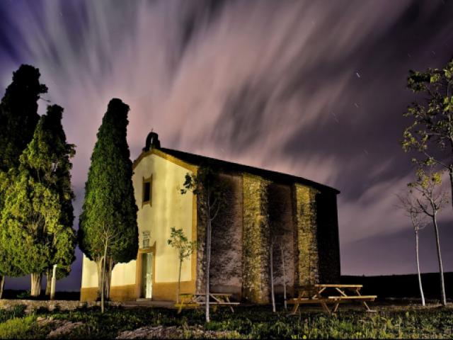 Una de les rutes és a l'Ermita d'Alfafara / Mancomunitat