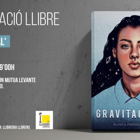 BlancaPeredapresenta el seu primer poemari: 'Gravitacional'