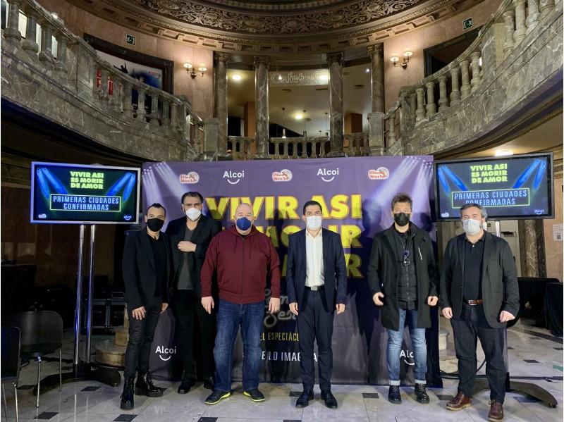 Presentació a Madrid amb la presència de l'alcalde / Ajuntament d'Alcoi