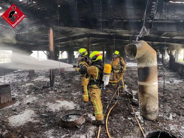 Incendi a una granja de titots de Gorga