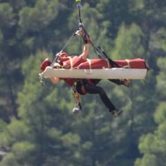 Rescaten un jove que ha caigut en un barranc d'Alcoi