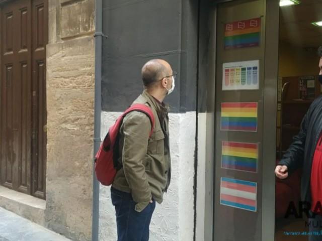 """""""És un gran pas que el col·lectiuLGTBIa Alcoi i comarca tinga un espai físic"""""""
