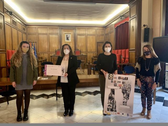 Denise Llorens, Aranza de Gracia i Ruth Tomás / Ajuntament