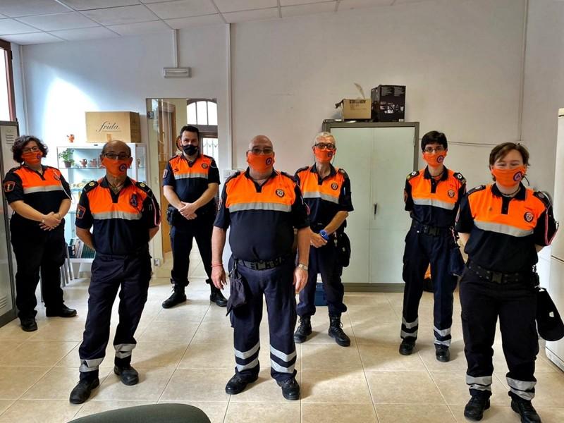 Alguns voluntaris d'Alcoi / Ajuntament
