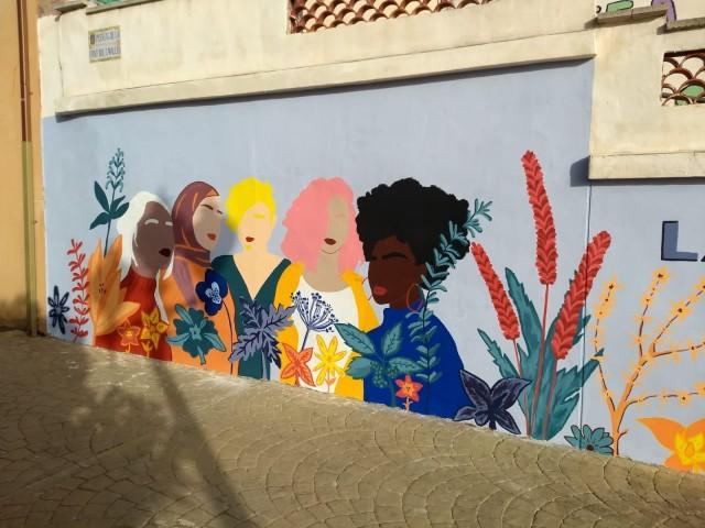 Mural a Banyeres / AM