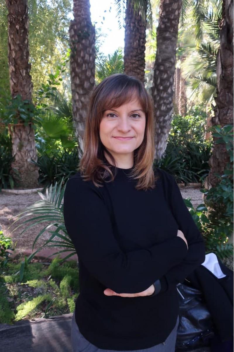 Maria Àngels Francés / Xarxes socials Universitat d'Alacant
