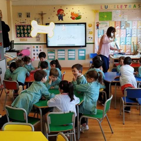Coneix Educació infantil als Salesians Joan XXIII