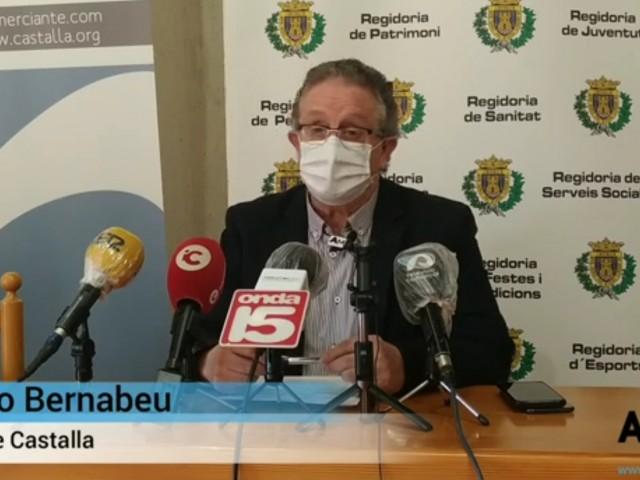 Arxivada la causa contra l'alcalde de Castalla per retirar unes multes