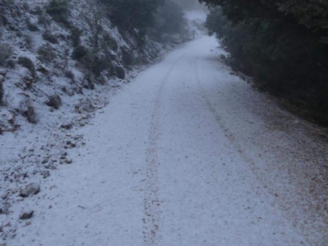 Imatge de l'1 de gener de 2021 al Menejador / Laboratori de Climatologia de la UA
