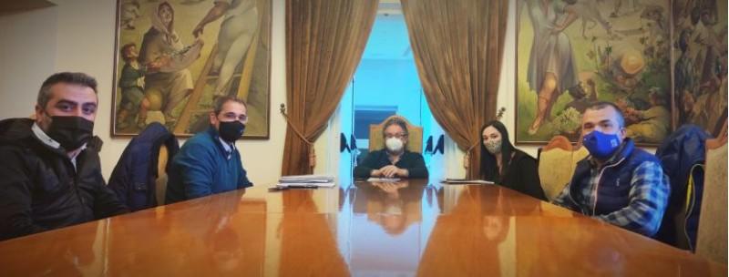 Reunió entre Ajuntament i empresais / IBIAE