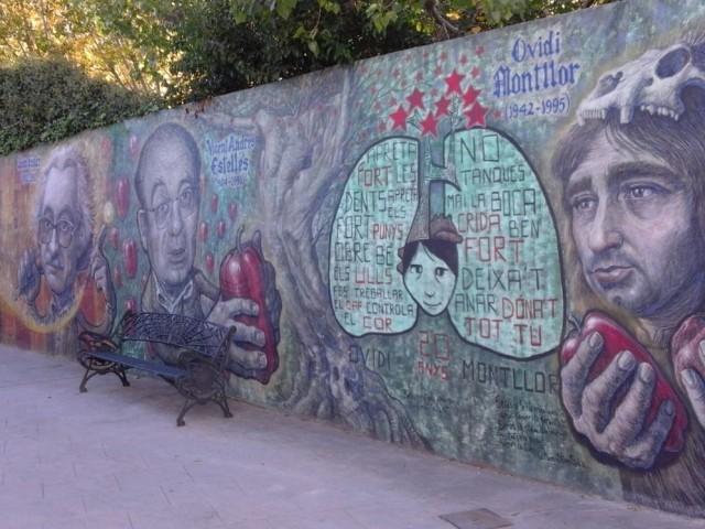 La Coordinadora pel Valencià s'oposa a la possible destrucció dels murals literaris de Muro