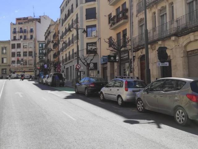 Així quedarà el carrer Santo Tomás amb lapeatonalitzaciódel centre d'Alcoi