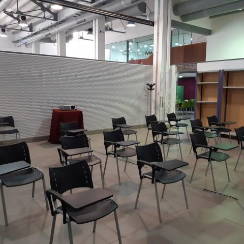 L'Àgora compta amb una nova aula de formació