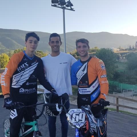 Ýago Casanova, Nico Parres i Carlos Galera