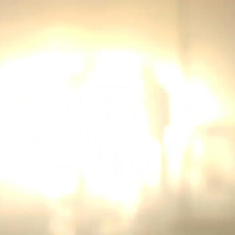 Els Bombers capten una explosió en un edifici d'Elx