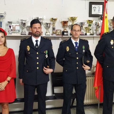 Dos agents de la comissaria d'Alcoi condecorats al Mèrit Policial