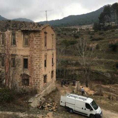 Una de les fàbriques al Molinar / Arxiu Alcoi Industrial