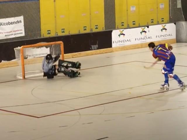 El segon gol de Gonzalo Pérez