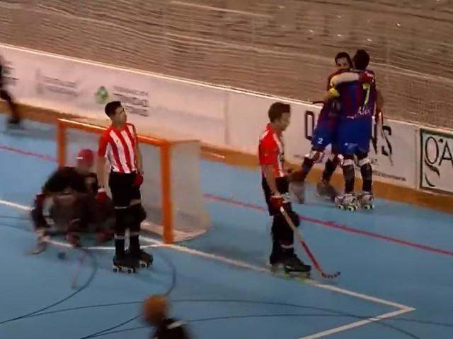 El primer gol de l'Alcòdiam