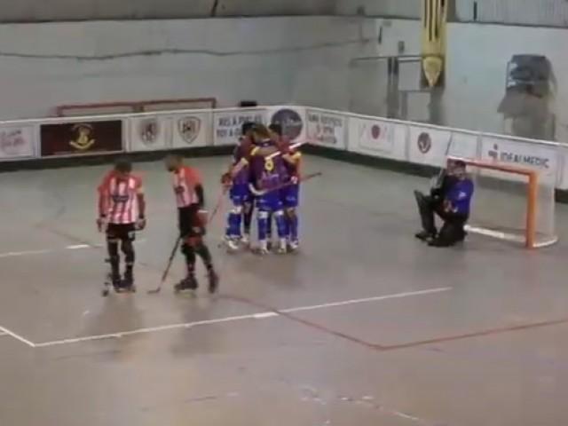 El tercer gol, obra de Domínguez