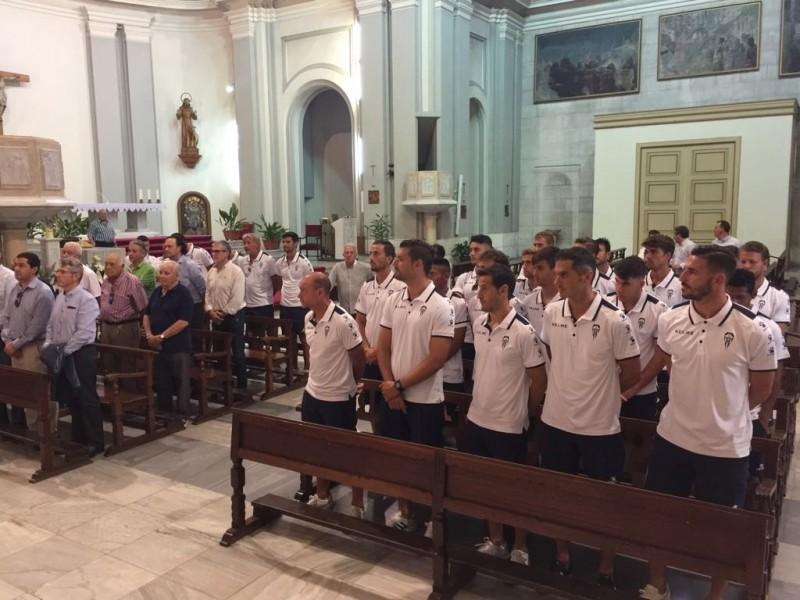L'equip, a l'església de Sant Maure /AM