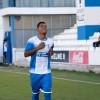 Lino, autor del primer gol de l'Alcoyano. Foto de Silvia Calatayud