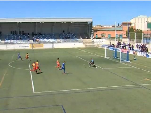 El segon gol de l'EJEA (ARAGÓN TV)