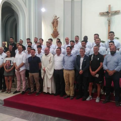 L'ofrena a Sant Maure i Sant Francesc