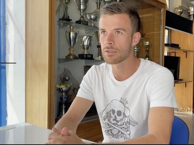Jorge Moltó, jugador de l'Alcoyano
