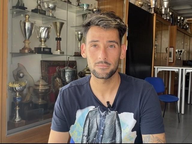 Juanma Acevedo, jugador de l'Alcoyano