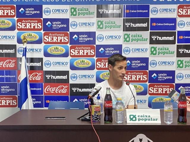 "Antonio Navarro, capità de l'Alcoyano, amb ganes de ""gaudir en ElCollaotots junts"""