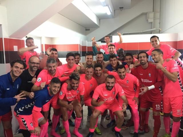Felicitat en acabar el partit