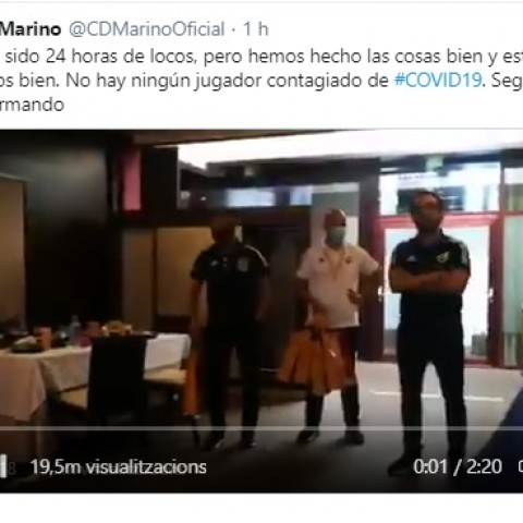 Twit del CD Marino