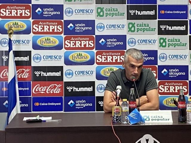 Vicente Parras, entrenador de l'Alcoyano