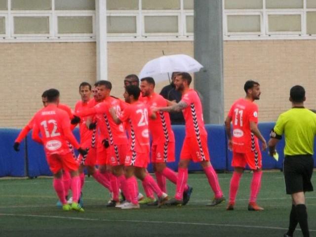 Celebració del gol de Peiró / AM