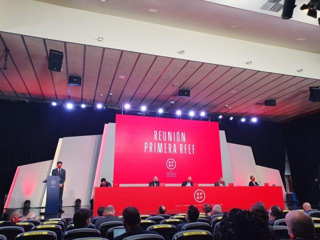 Imatge de la reunió a Madrid