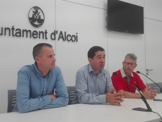Alberto Belda, Toni Francés i Juan Serrano/AM