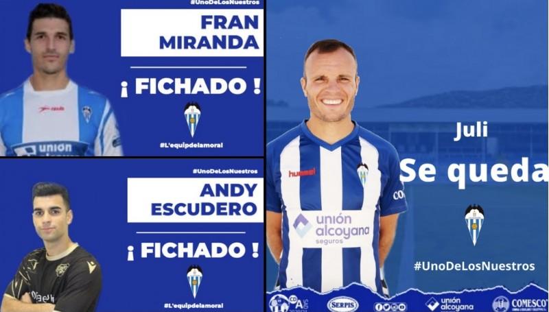 Fran Miranda, Andy Escudero i Juli / AM