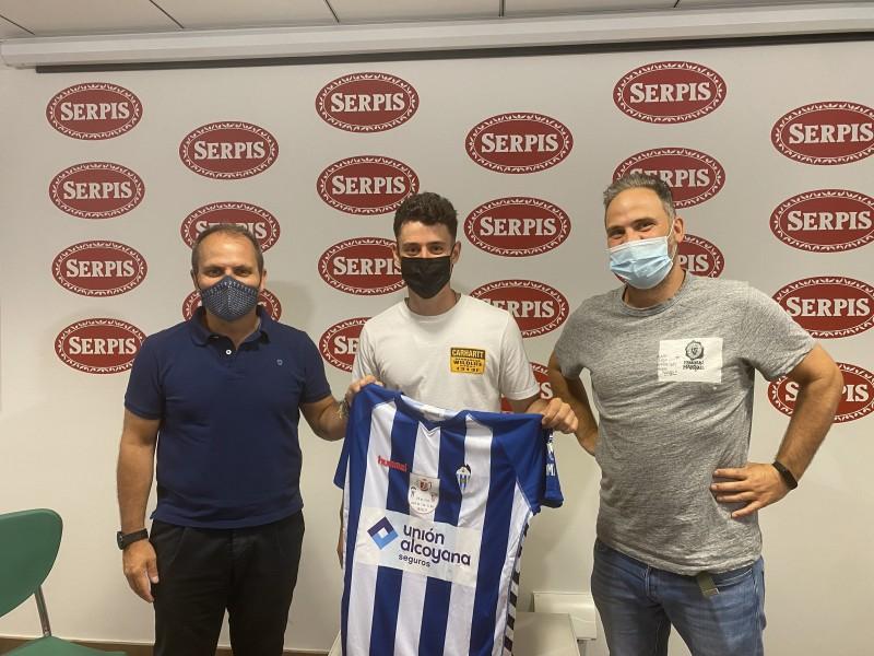Presentació Toni Abad com a nou jugador del Deportivo