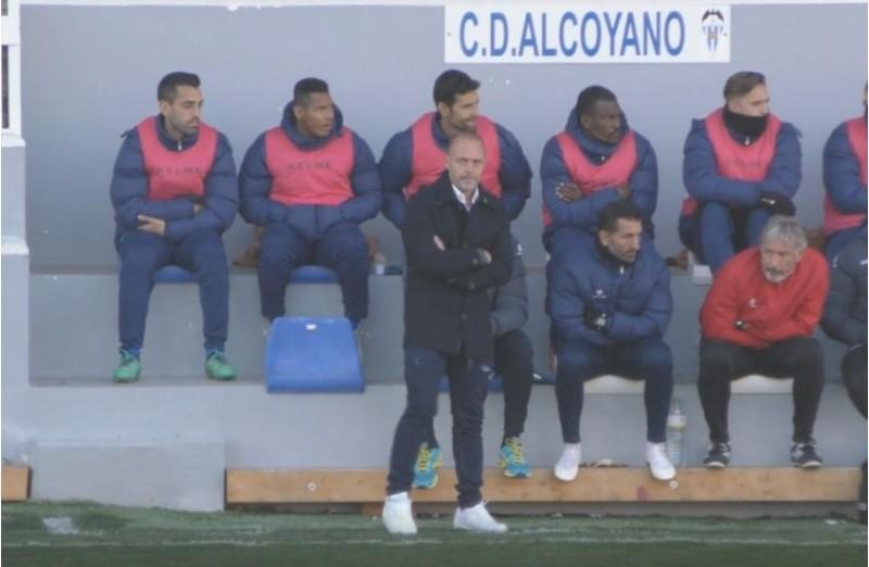 Vicente Mir en l'últim partit a casa / AM